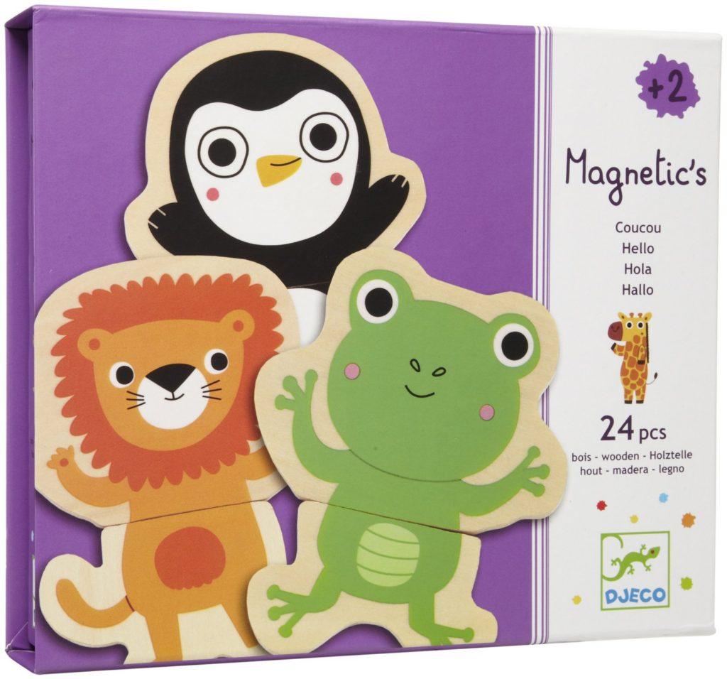 puzzle magnetic djeco