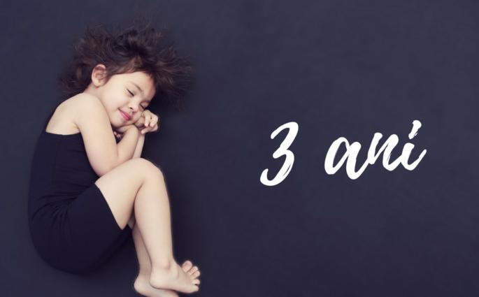 fata 3 ani