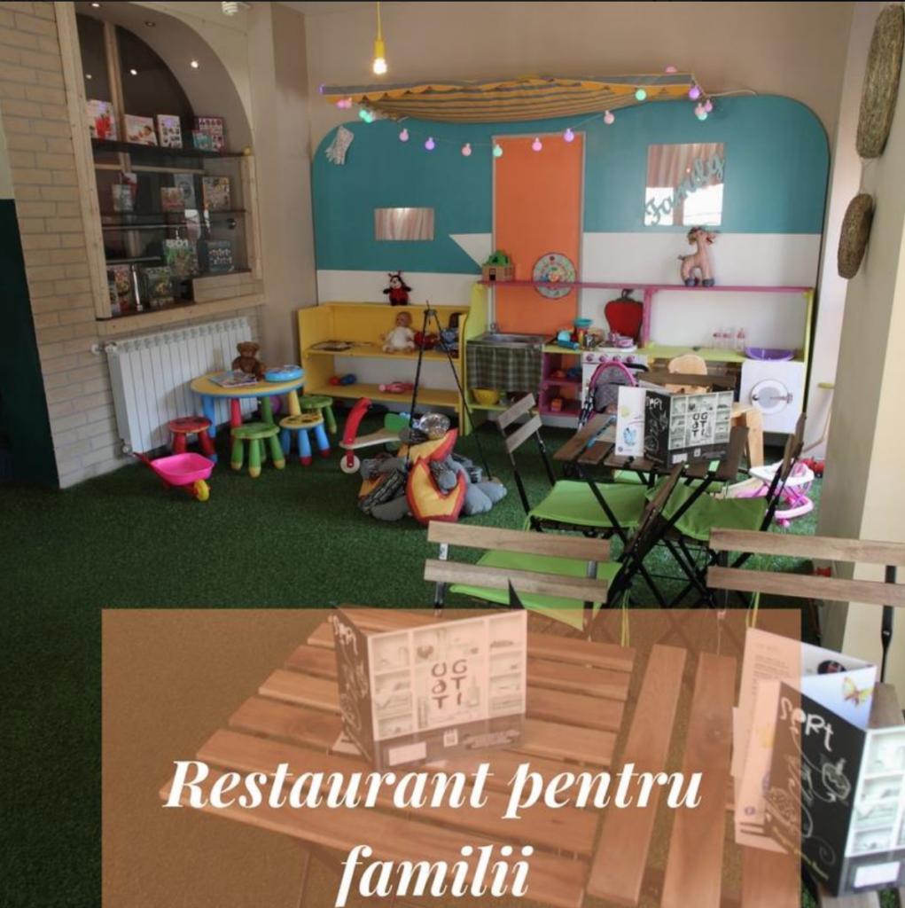 la iris restaurant cu loc de joaca