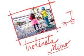 Trotineta Micro, cea frumoasă și rezistentă